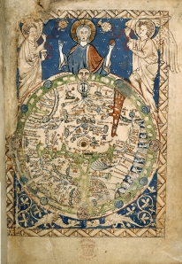 Psalter World Map, c.1265