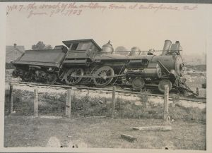 The_wreck_of_the_artillery_train_at_Enterprise,_Ontario,_June_9,_1903_(HS85-10-14100-7)